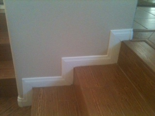 Beautiful Baseboard Stairs