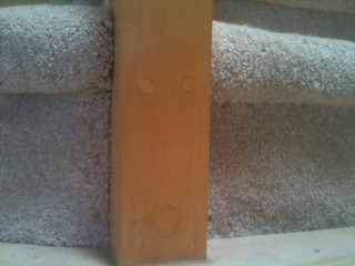 carpentry newel post