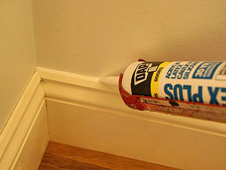 Caulking Baseboard Before Painting