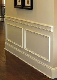 Carpentry Make A Return For Chair Molding