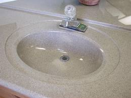 How To Install A Cultured Marble Vanity Sink Top