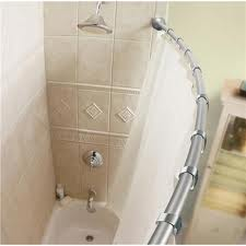 Some People Might Consider This The Cheapest Shower Remodel Around. If You  Use A Shower Curtain And Straight Rod, You Might Consider Installing A Curved  Rod ...