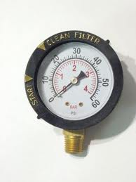 Handyman replaces pool filter gauge handyman of las - Swimming pool water temperature gauge ...